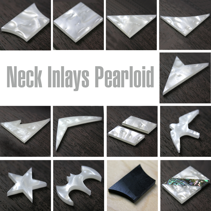 INA Acrylic Pearloid Neck Inlays
