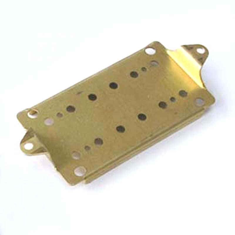 PP6 Brass 50mm Neck Spacing Humbucker Pickup Base Plate Round lug