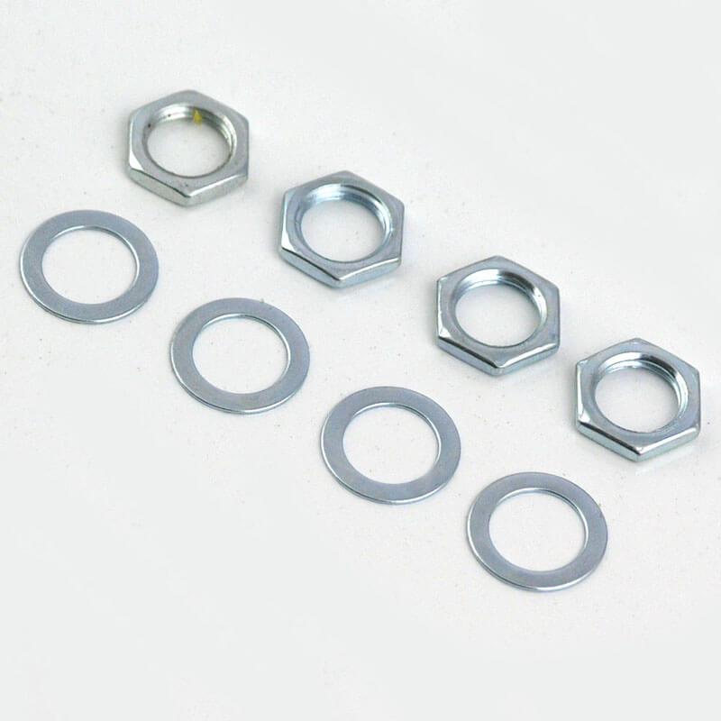 SC17 Four x Nuts and Washers for Volume and Tone Pots