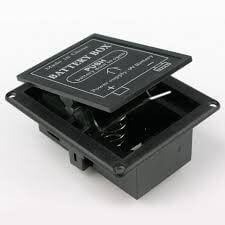 BT5 9 Volt Flat Mounted Battery Box