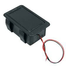 BT7 9 Volt Flat Mounted Battery Box