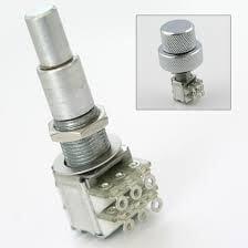 POT10 A500k B500k Volume & Tone Dual control pots