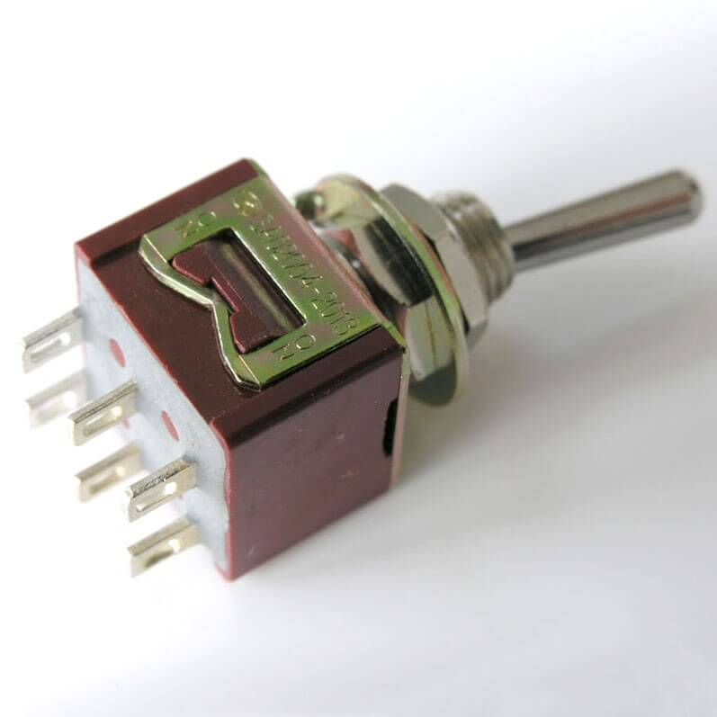 E10 DPDT Mini Toggle Switch