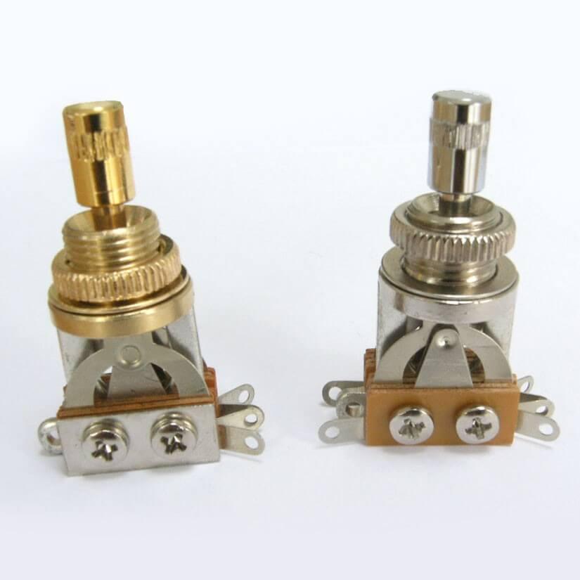 E17 Metal Three Way Toggle Switch