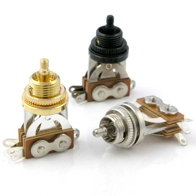 E1 Three Way Short Toggle Switch