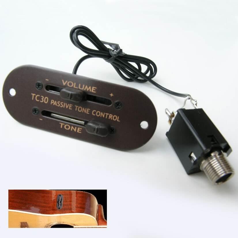 E24 Artec EQ Aoustic guitar TC30 Passive Tone Controller