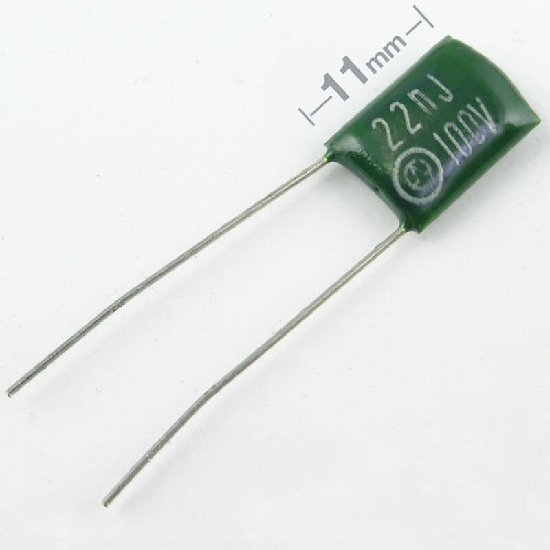 E56 0.022uf Green Polyester Film capacitor
