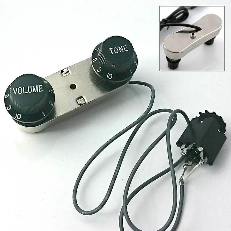E66 Passive Volume and Tone Controller for Acoustic instrument