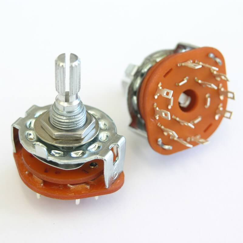 E69 5 Position Rotary Switch For Varitone Style Circuits. Guitar or Bass