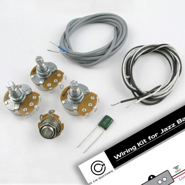 WK3 J Style Bass Wiring Kit