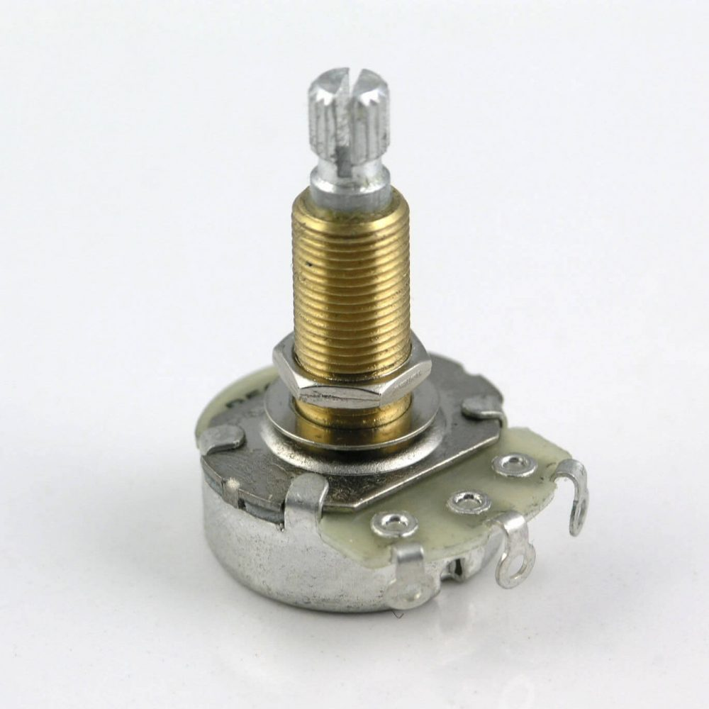 POT11 A or B Full Size Alpha Volume & Tone Control Pots Potentiometer. 28mm Long Shaft