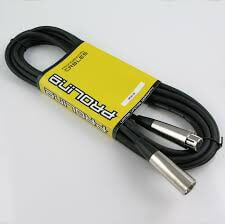 Pedal Link Leads GL11 Set Of 6 Guitar Cables For Pedal Board