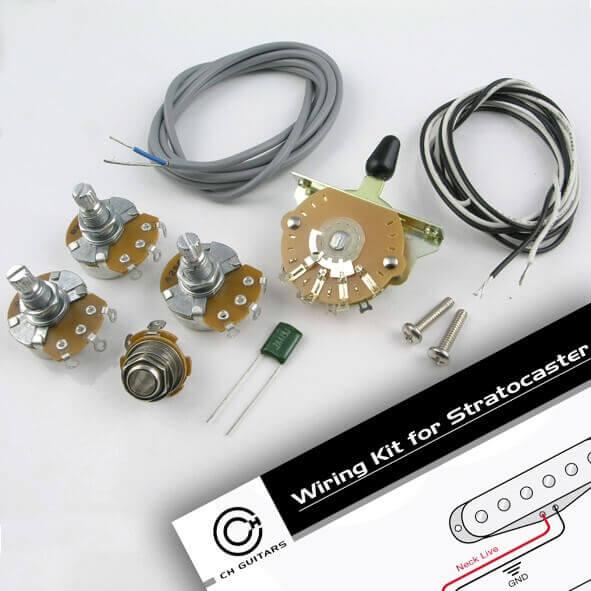 WK6 S Style Vintage Wiring Kit