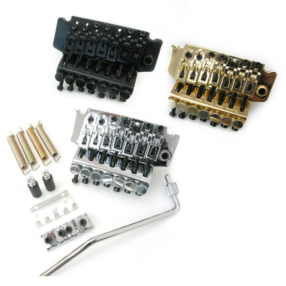 TK9 7 string Licensed Floyd Rose Tremolo Double Locking