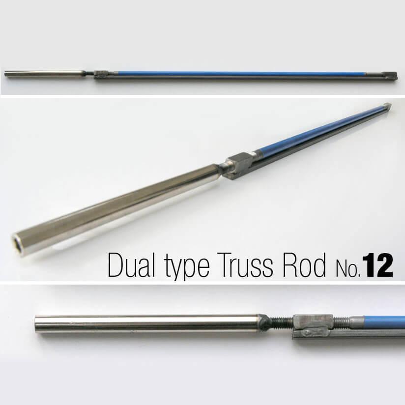 TR12 Dual Type Acoustic Guitar Truss Rod 440mm