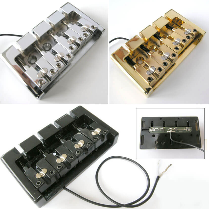 B41 Four String Bass Piezo Bridge