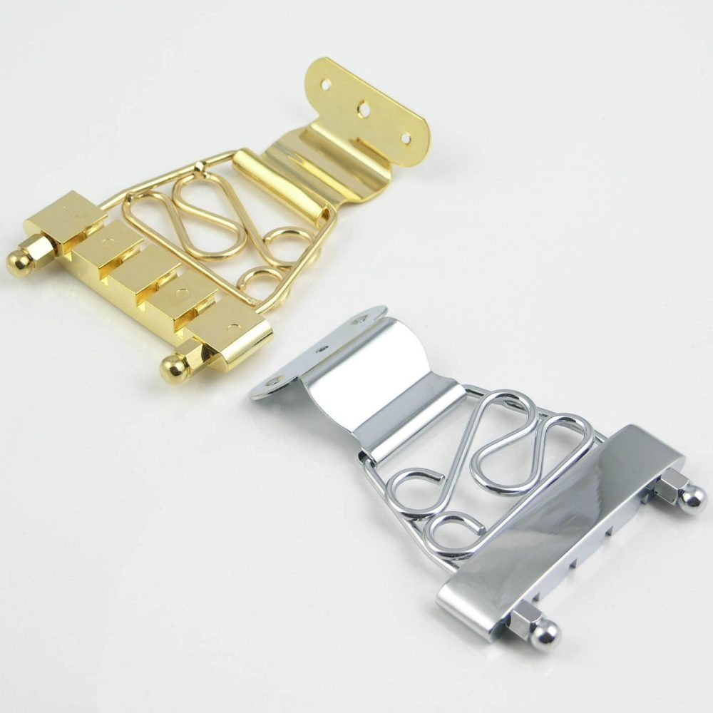 B77 Short Trapeze tailpiece, Jazz archtop Bass bridge