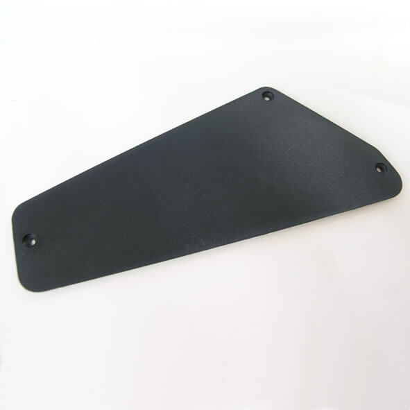 CC1 Black plastic cavity control back plate cover