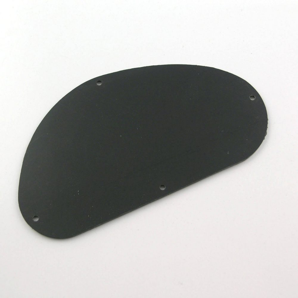CC8 Black plastic cavity control back plate cover rounded