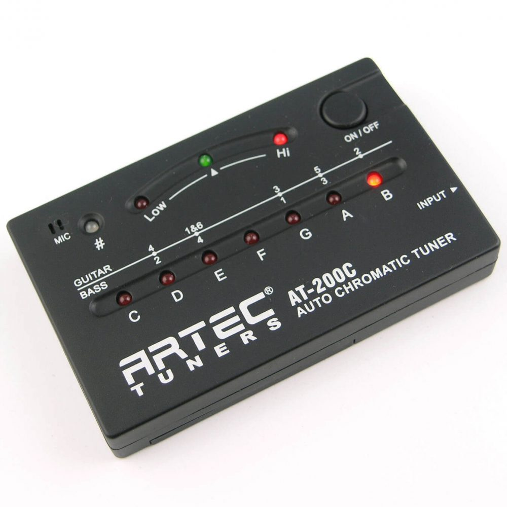 DT3 Artec AT-200C Auto Digital Chromatic Tuner