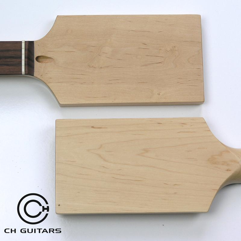 NK9 Full Paddle Maple/Rosewood 22 Fret Guitar Neck