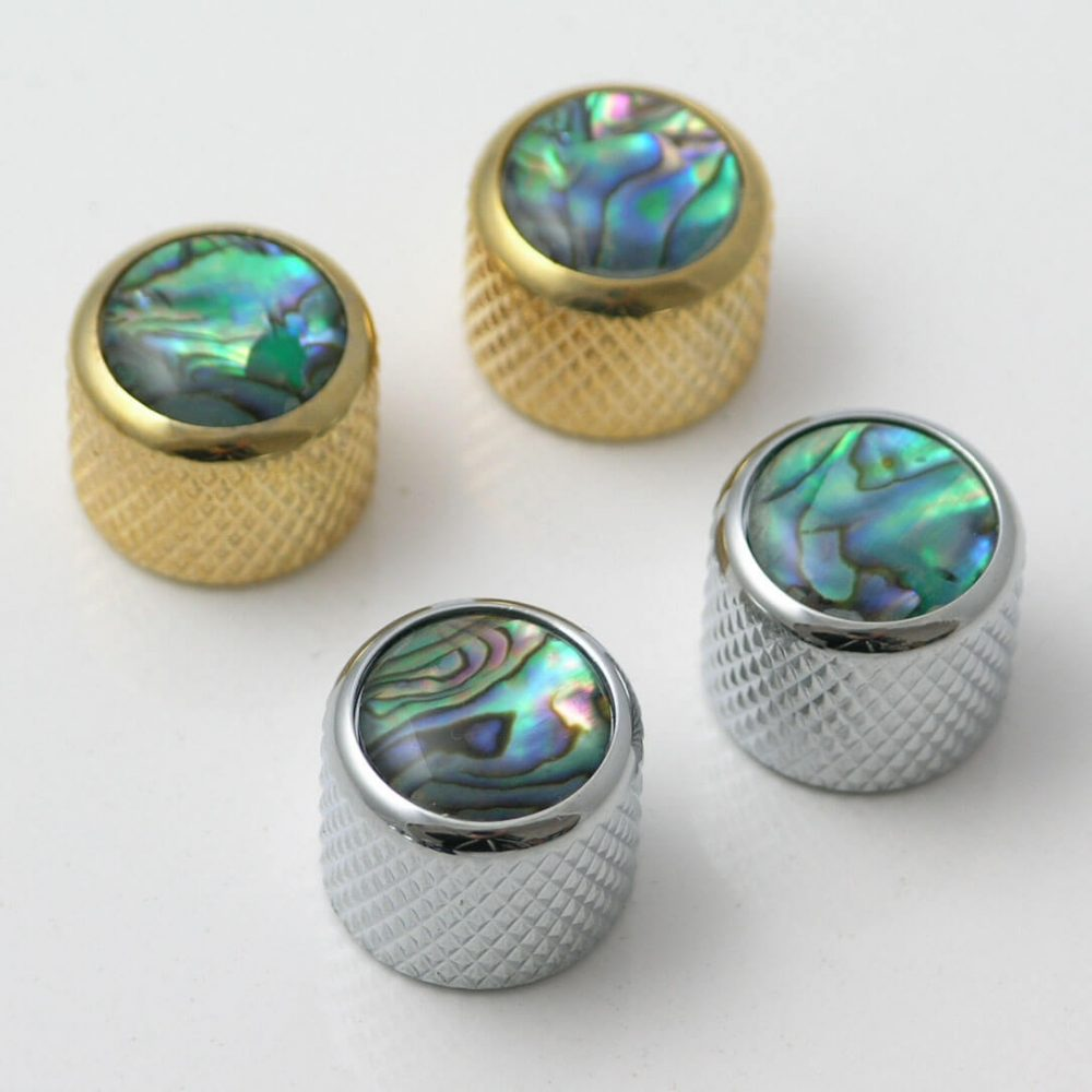 K27 guitar abalone inlay push on Control knobs 19mm diameter