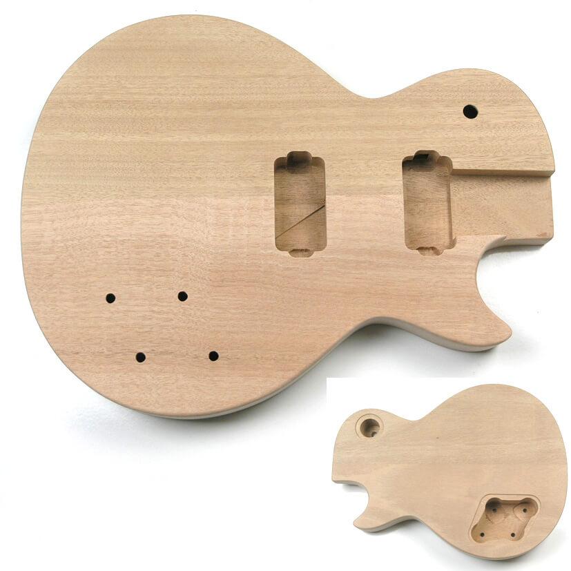 LPM Curved Top Mahogany LP Guitar Body