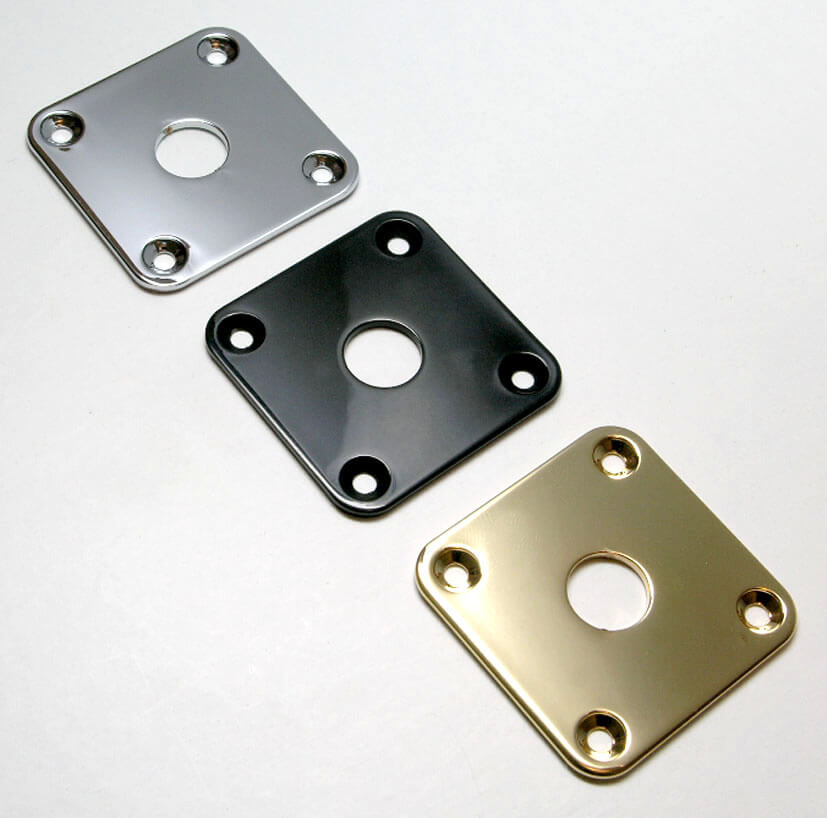 M13 Square Metal Input Plate