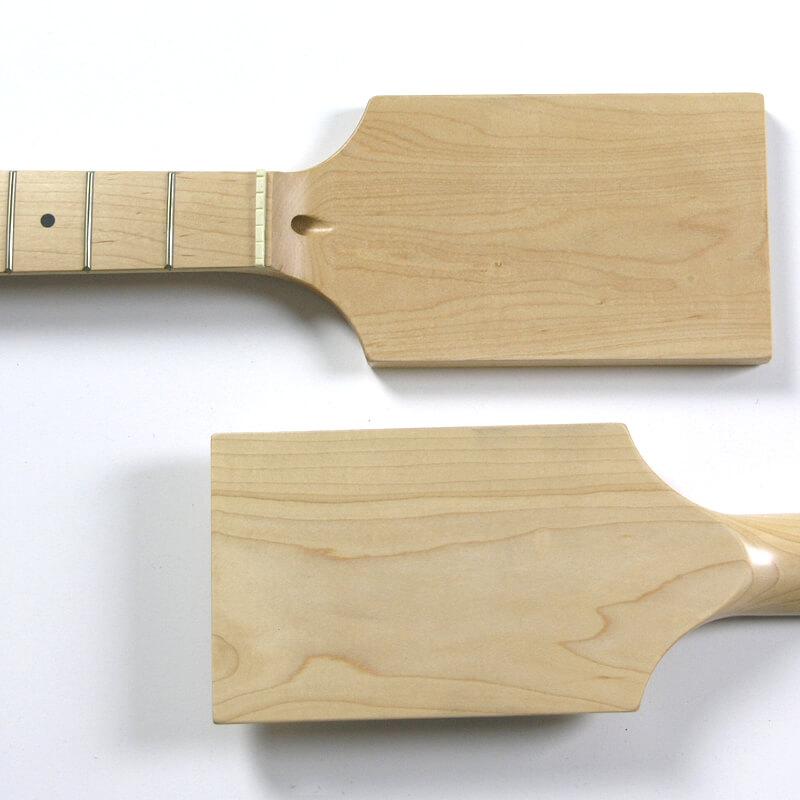 NK12 Full Paddle Maple/Maple 22 Fret Guitar Neck