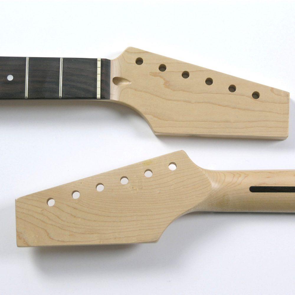 NK17 Half Paddle Maple/Rose 22 Fret Guitar Neck