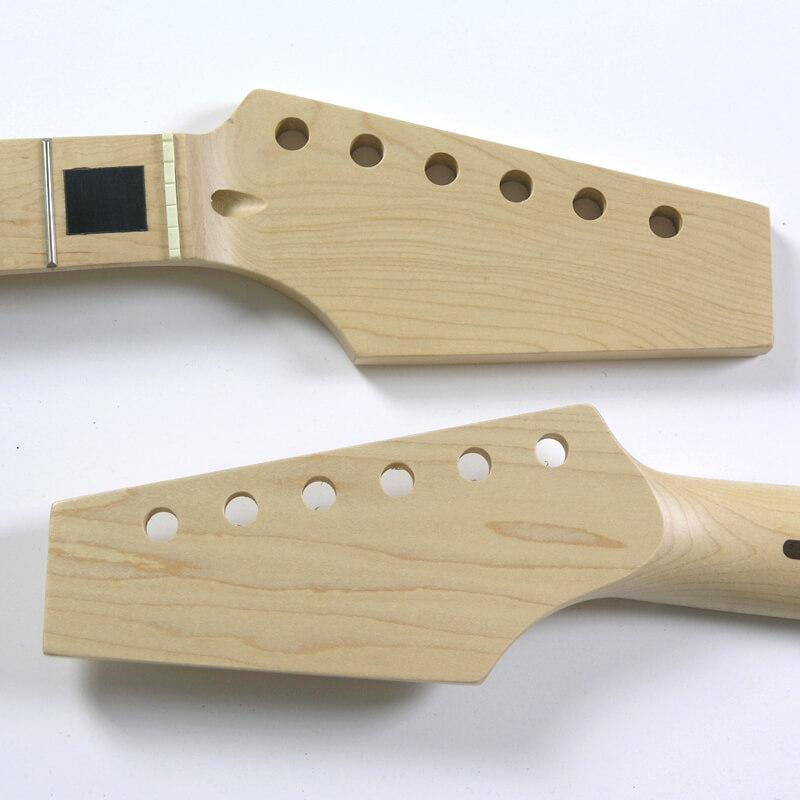 NK5 Half Paddle Maple/Maple 22 Fret Block Inlay Guitar Neck