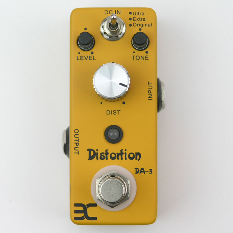 PED1 DA-3 Distortion Mini Pedal