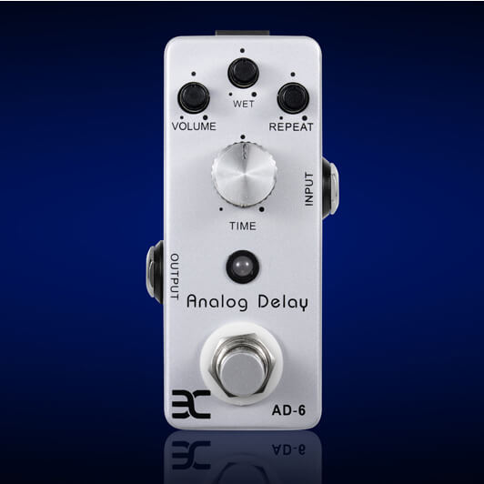 PED10 AD-6 Analog Delay MINI Pedal