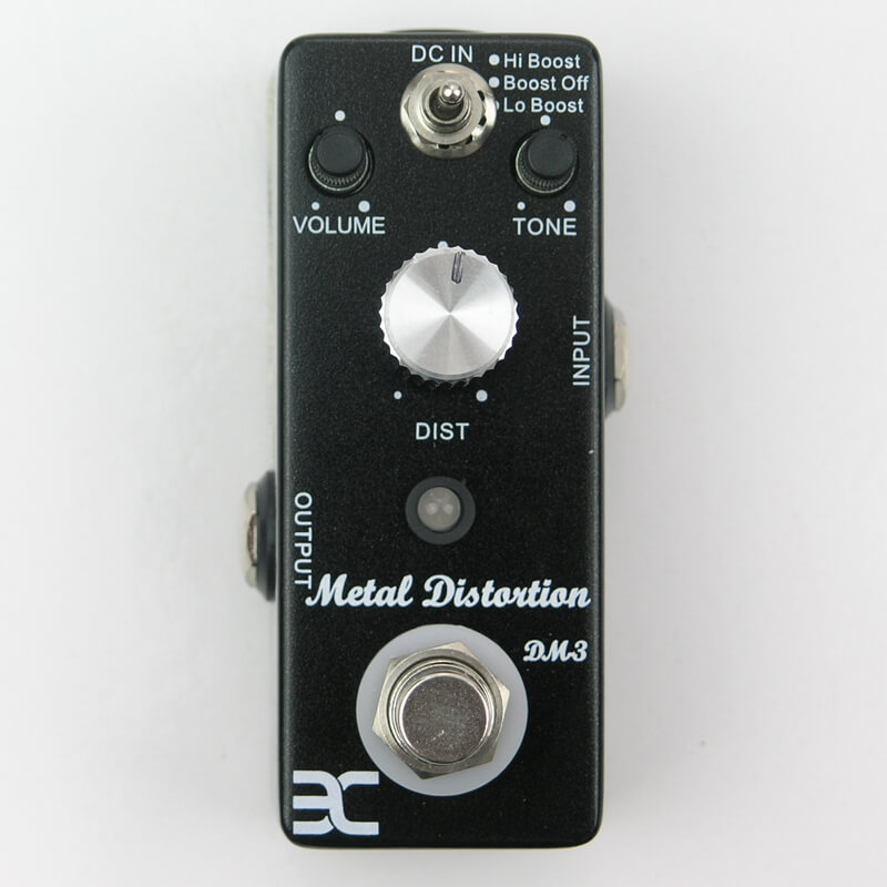 PED2 DM-3 Metal Distortion Mini Pedal