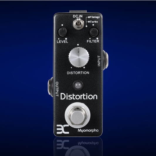PED3 Myomorpha Distortion Mini Pedal