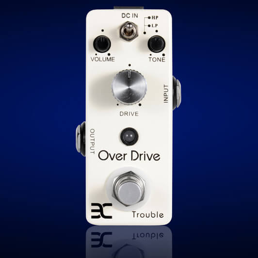 PED5 Overdrive Trouble MINI Pedal