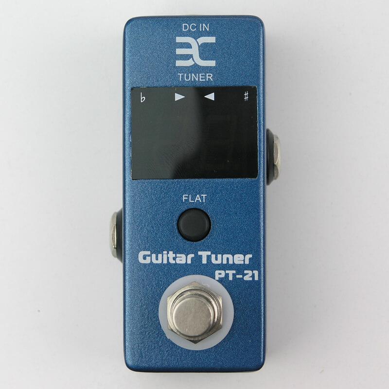 PED7 PT-21 Guitar Tuner MINI Pedal