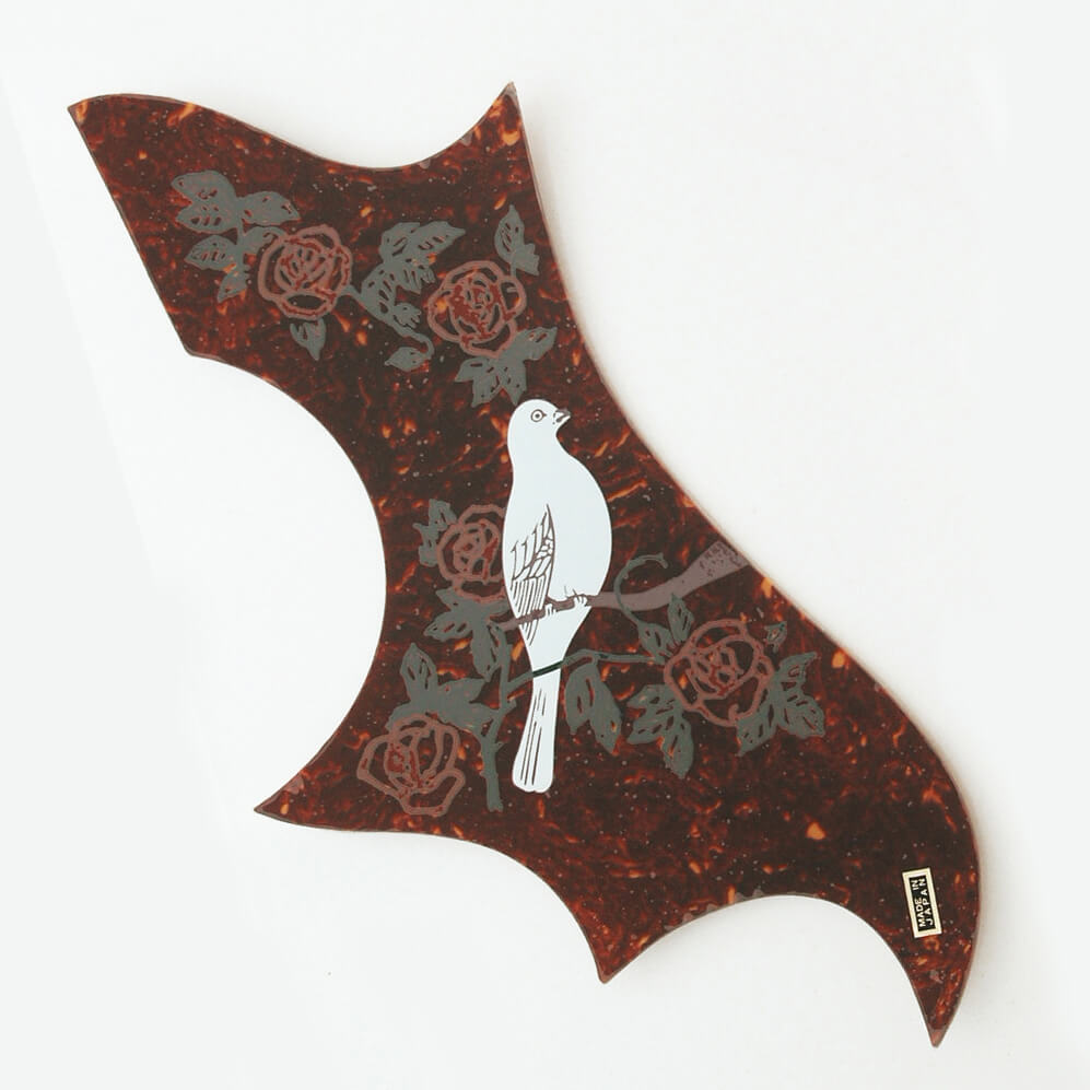 PG24 Japanese made Dove acoustic scratchplate Pickguard