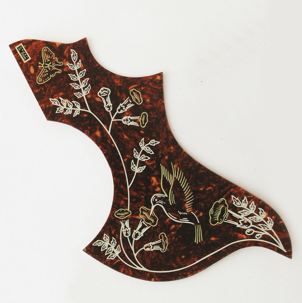 PG25 Japanese made Hummingbird acoustic scratchplate Pickguard