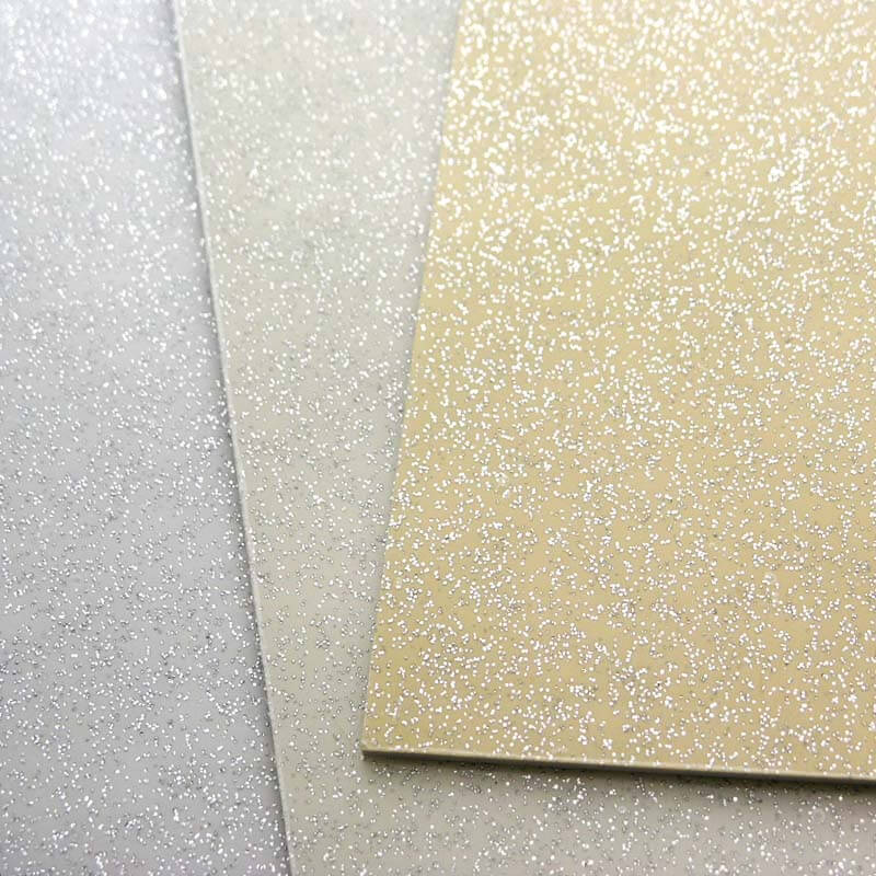 PG28 Large Silver sparkle Scratch plate pick guard Sheets