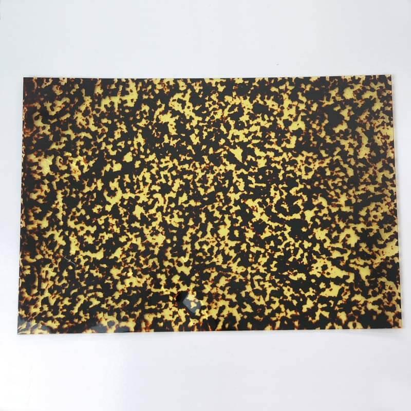 PG29m Nitrocellulose Scratch plate pick guard mottled tortoiseshell Sheet 29cm x 43cm