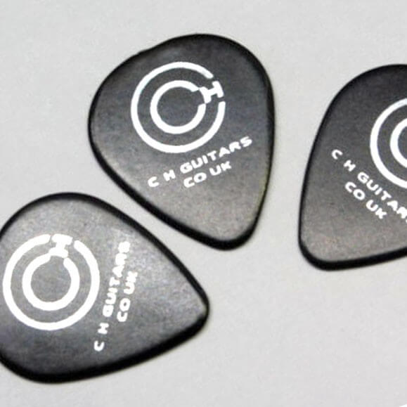 PK1 Set Of Three Guitar Picks