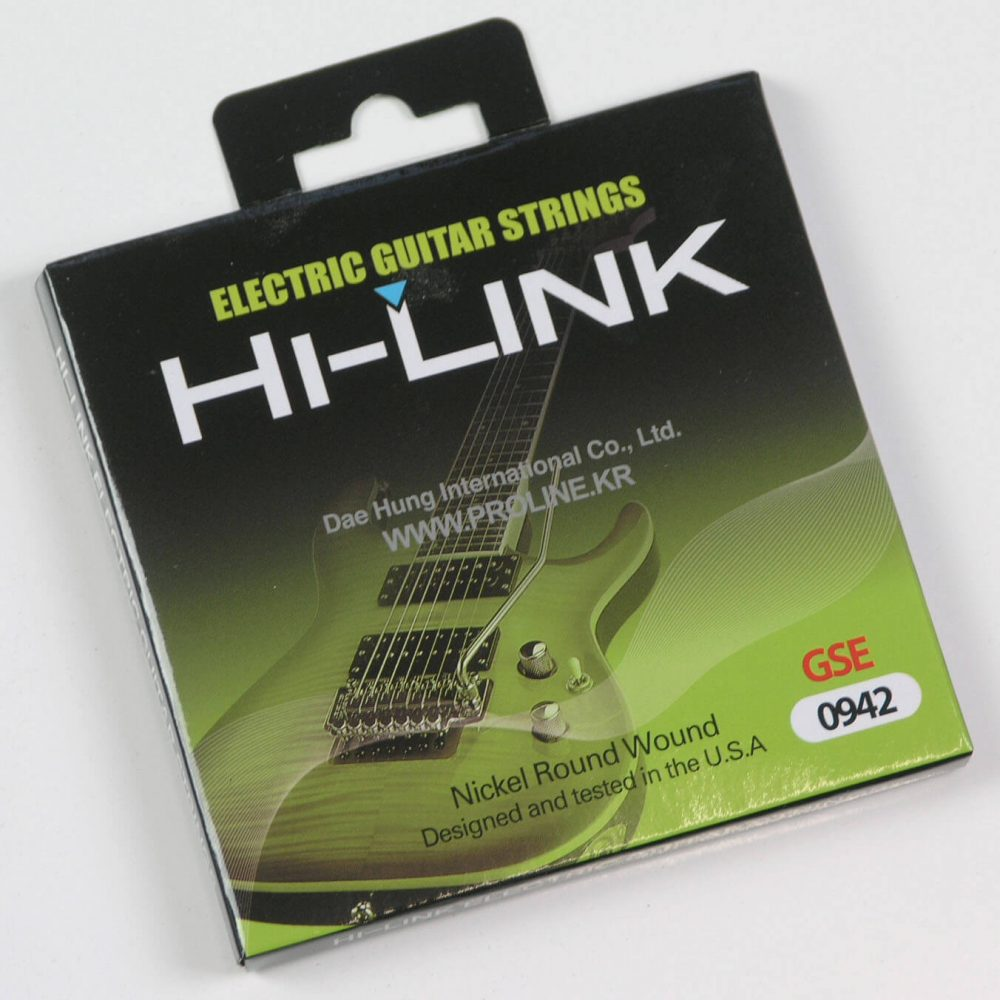 STR1 HI-LINK Electric Guitar Strings .009 to .042