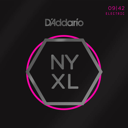 STR11 D'Addario NYXL Nickel Wound Guitar Strings 09/42