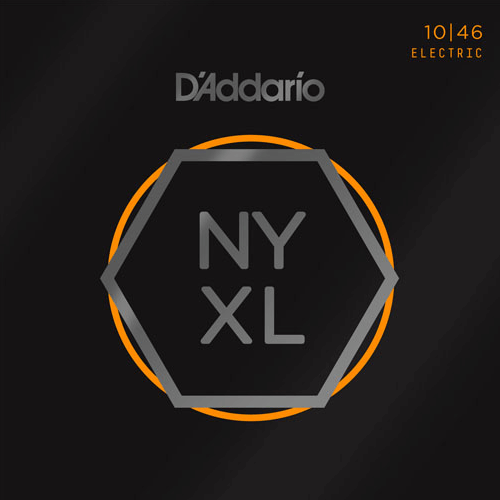 STR12 D'Addario NYXL Nickel Wound Guitar Strings 10/46