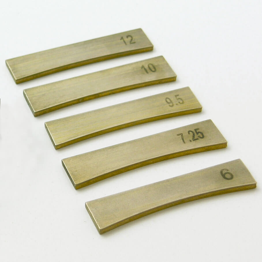 TO33 5 x fret press inserts