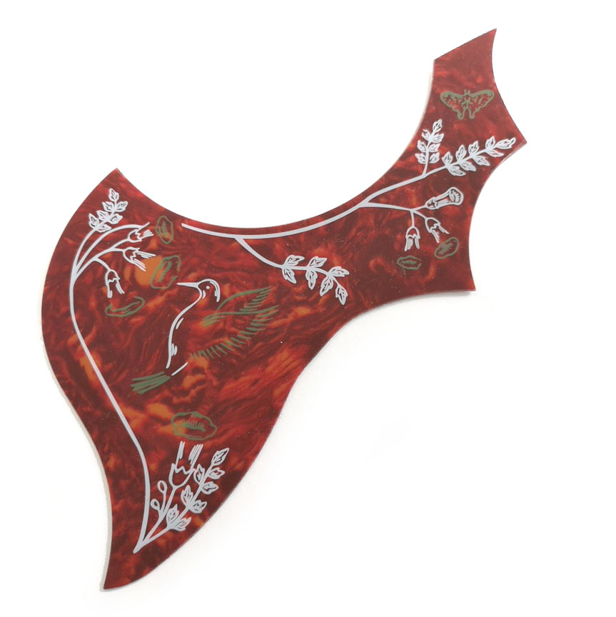 PG38  Hummingbird acoustic scratchplate Pickguard
